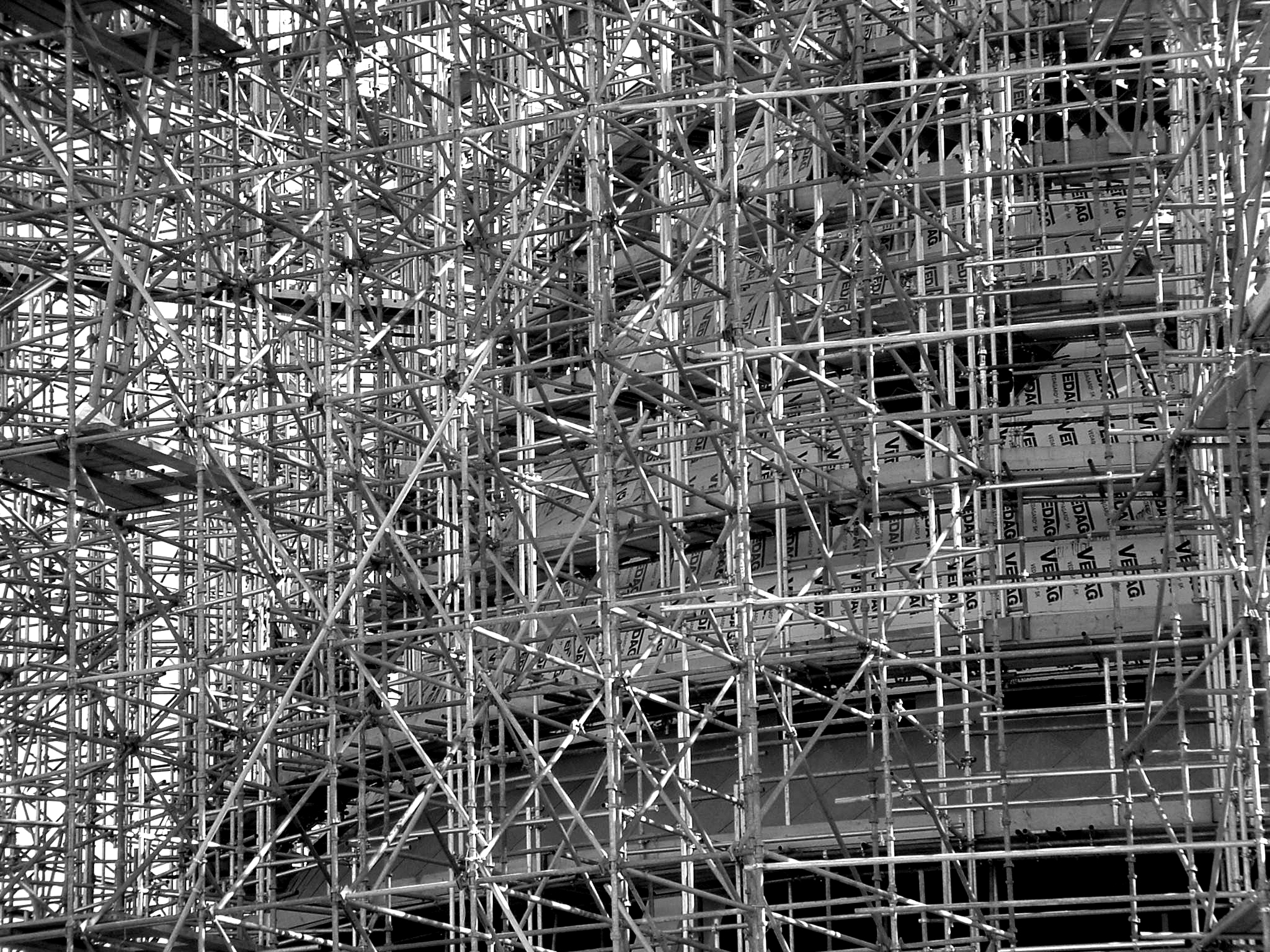 Scaffolding isn't just useful in construction