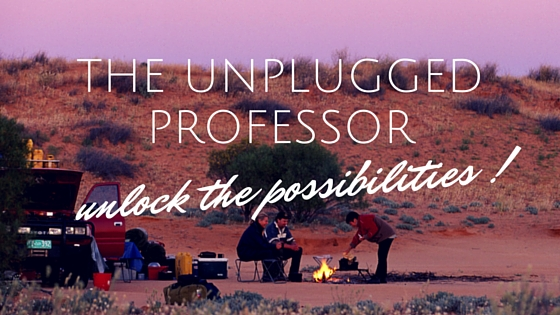 Professors camping