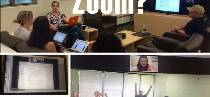 Zoom – Boom – Whose Room? A User's Perspective*