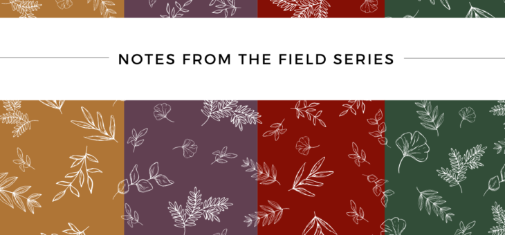 Introducing Notes from the Field: A Blog Series